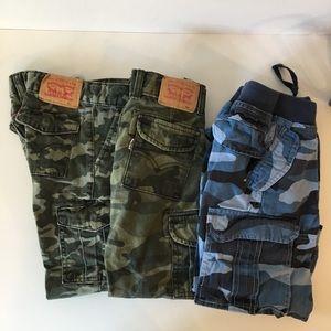 Bundle of 3 Camouflage Pants